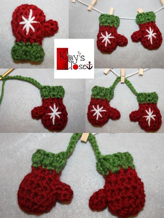 Free Crochet Patterns For Mini Christmas Ornaments : 1000+ images about Free Crochet patterns on Pinterest ...