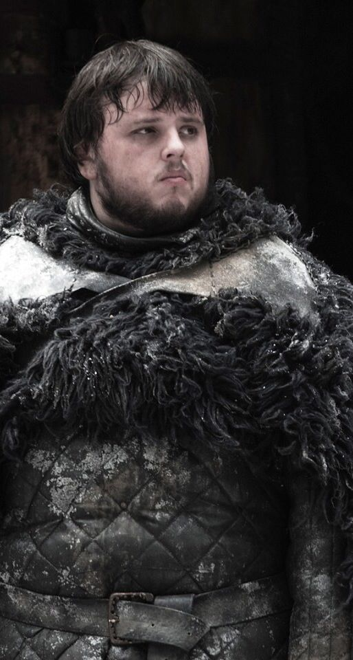 Sam, from Game of Thrones, joins the knights watch because his father is disappointed with him for not being a good fighter. Sam says that he does not like to fight. Sam would rather read and use his mind. This issue is that in this world, men are expected to be brave and strong, Sam goes against this stereotype and uses other skills to be successful.