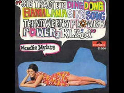 Wenche Myhre - Flower Power Kleid