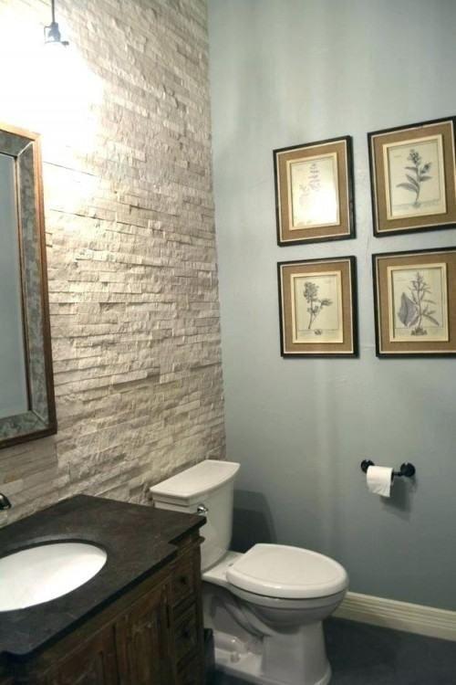 Powder Bathroom Decor Ideas With Images Simple Bathroom Small