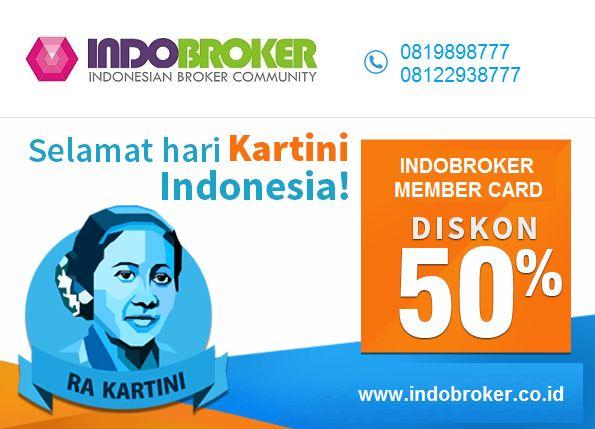 Indobroker.co.id: Rayakan Hari Kartini, Indobroker Gelar Diskon Gil...