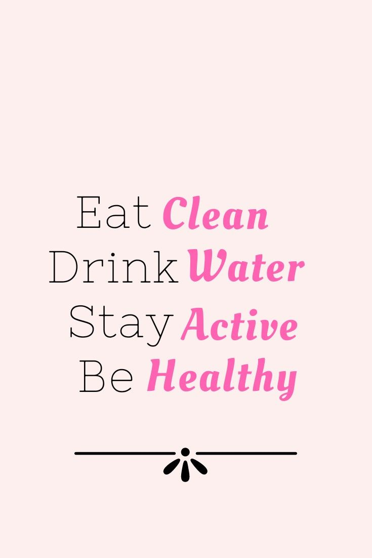 Stay Healthy Eat Healthy Quotes