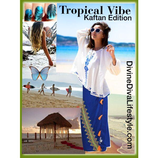 Divine Diva Plus Size Kaftans - Tropical Vibe by divine-diva-resort-wear on Polyvore featuring Billabong