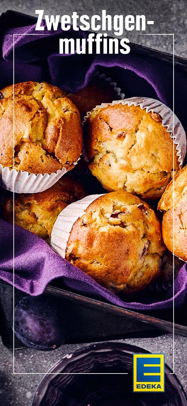 Zwetschgen Muffins Rezept Backen Pinterest Kuchen Backen