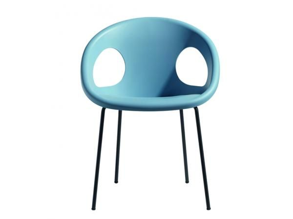 Krzesło Drop 4 Legs jasnoniebieskie Machina Meble 2682-VA-62, Machina Meble - Meble