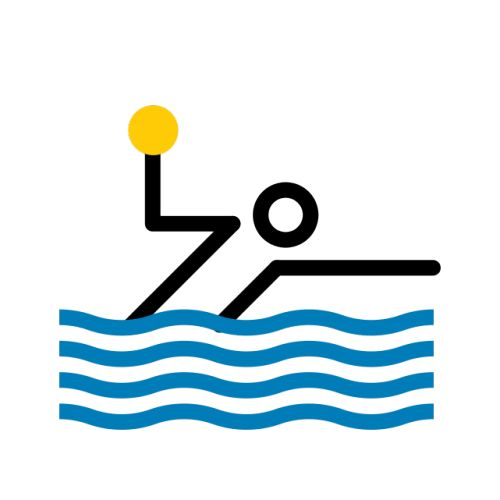 Alvaro Valiño / The Washington Post / Water Polo / Pictogram /...