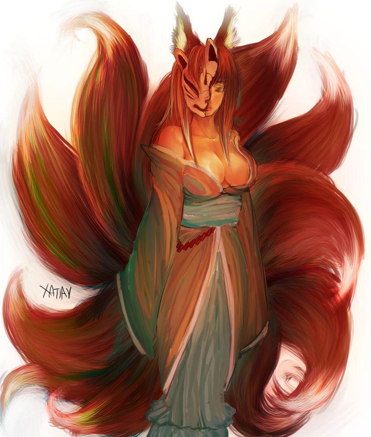 Mononoke Fox Spirit: Izuna by Xatiav.deviantart.com on @deviantART
