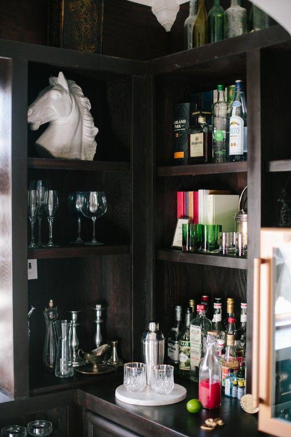 Black Home Bar   Jordana Hazel