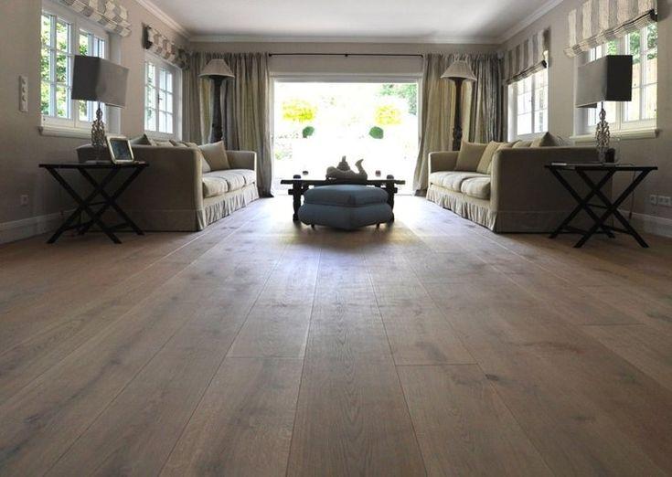 Eiken multivloer Extra breed, Tevens geschikt voor vloerverwarming 240mm breed, deze vloerdelen kunt u in vrijwel ieder gewenste kleur olieen