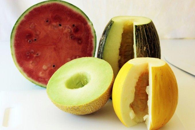 Trucos para elegir melones y sandias
