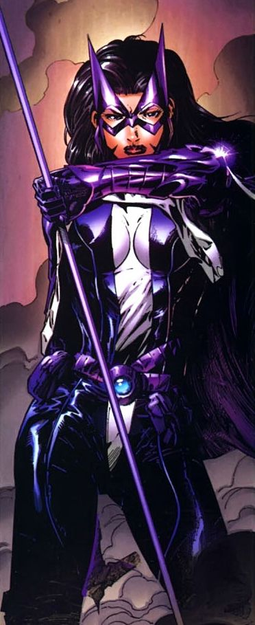 Korianna is loosely based on Helena Bertinelli, known as Huntress