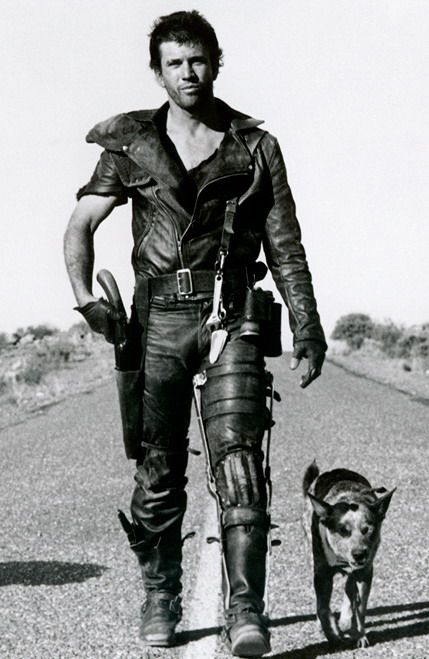 """Mel Gibson as Mad Max in """"The Road Warrior"""" - George Miller, Director - 1981"""
