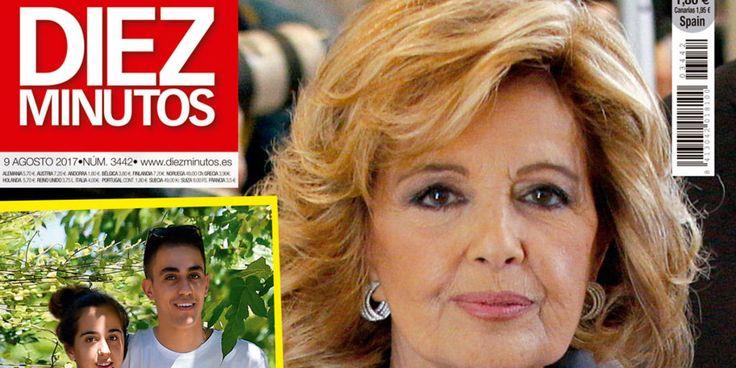 Mañana en Diez Minutos: Mª Teresa Campos prepara su vuelta a la tele y Andrea Janeiro con un amigo especial