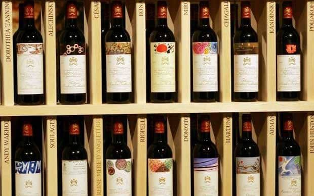 $114,614 - Chateau Mouton Rothschild 1945    In 1997, a jeroboam of Chateau Mouton Rothschild 1945 – considered one of the    great vintages of the last century – sold to an anonymous bidder at    Christie's, London. The $114,614 price-tag equates to almost $23,000 per    750ml (a regular-sized wine bottle).    Buy your special    wines  at Telegraph    Wine <img src=