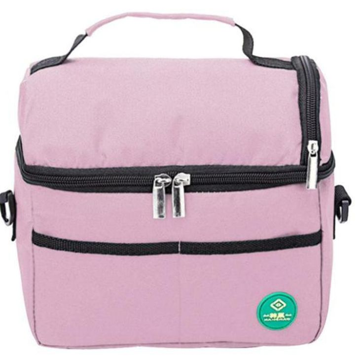 1pc Insulated Waterproof Thermal Shoulder Picnic Cooler Lunch Bag Storage Box Tote lunch bags for women lunch box bag Lucky