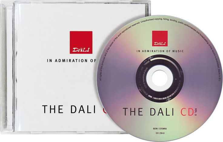 Dali CD Volume 2 Spécial Audiophile - CD Audio NEUF