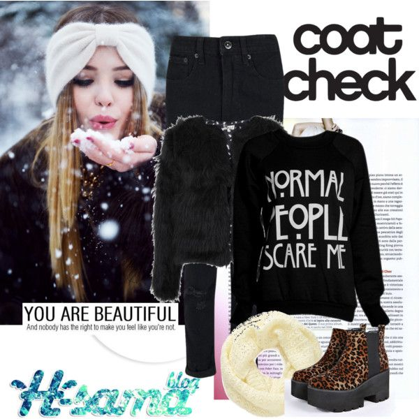 snow by hsama on Polyvore featuring Rotten Roach, Boohoo, Sole Society, Winter, snow and hsamablog: