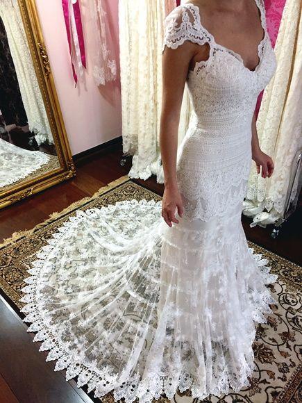 vestido de noiva boho chic- modelo valençay | iglesia | pinterest