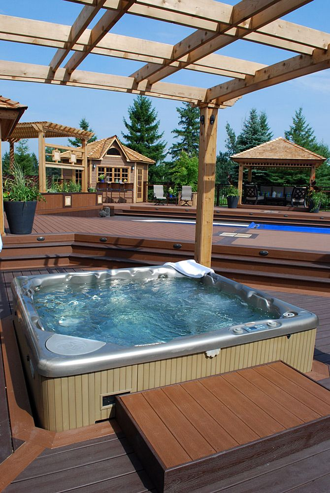 this massive square foot project includes a saltwater pool a hot tub - Saltwater Hot Tub