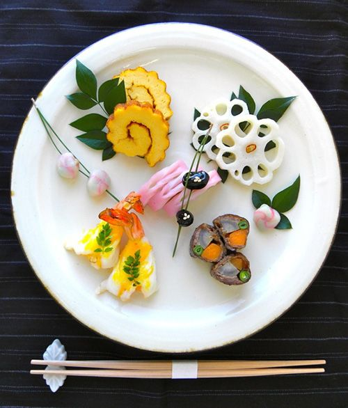 Japanese traditional New Year foods, Osechi おせち料理