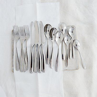 Stanton 16 Piece Cutlery Set | The White Company