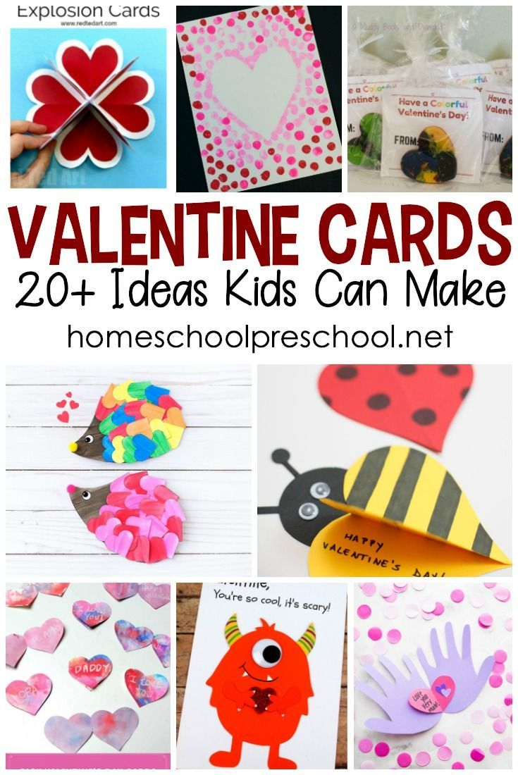 Homemade Valentine Cards Kids Will Love To Make Homemade