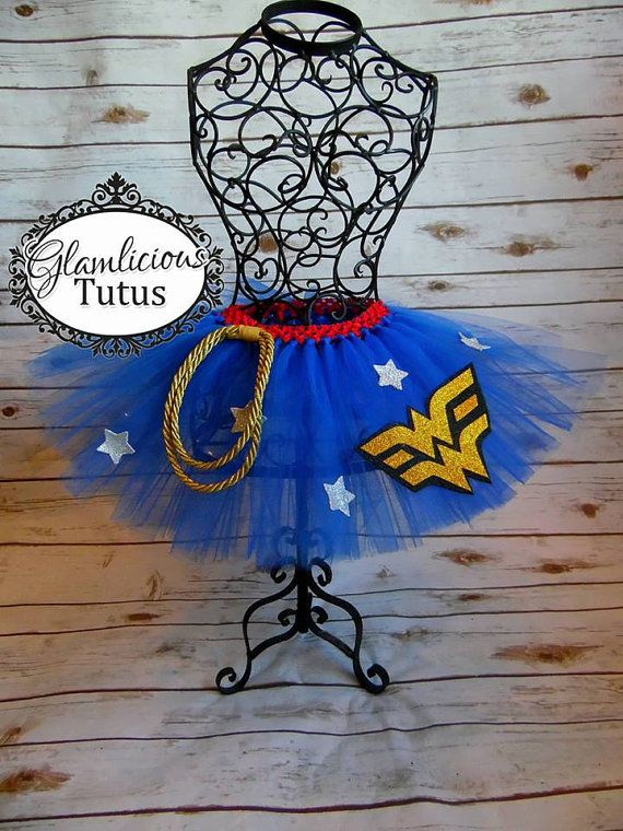 Wonder Women inspired tutu  Super Hero tutu Adult tutu
