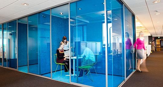 Alberga Business Parkissa olevat ÅF:n neuvottelutilat ovat huippumodernit.