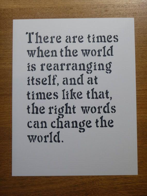 Ender's Game Quote: Rearranging World by WoodsieMakesThings