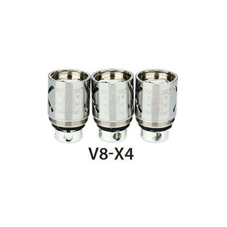 0.15 Ω V8-X4 Quad Coil - rated for 60W - 150W, recommended 80W - 120W