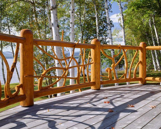 Best 7 Best Driftwood Railings Images On Pinterest Banister 400 x 300