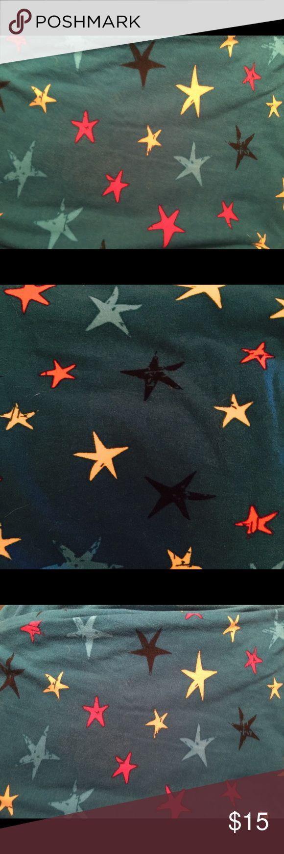 TC LULAROE STAR LEGGINGS TEAL BASE PINK YELLOW BLK TC LULAROE STAR LEGGINGS TEAL BASE PINK YELLOW BLK STARS. TEAL BASE LuLaRoe Pants Leggings