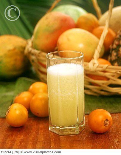 Jugo de Lulo. Amazing Colombian Juice