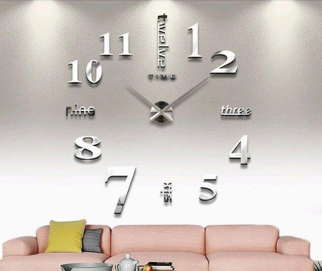 f1ccbac9b ساعات حائط مودرن | اشياء للمنزل | Home decor, Clock, Wall