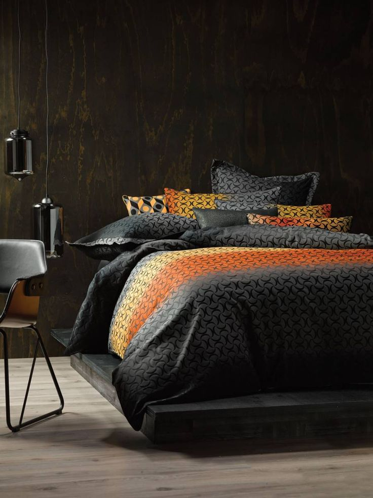 Linen House Bauer Sunset Quilt Cover Set, available at Forty Winks