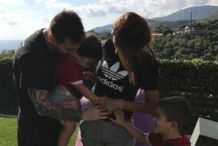Familia de 5! Messi y Antonela esperan a su tercer hijo - Milenio.com