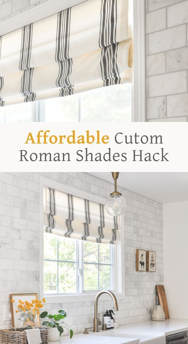 Thermal Cordless Roman Shade It S Pretty Plain But It S