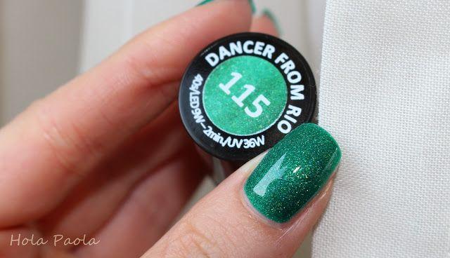 Lakier hybrydowy Semilac 115 Dancer from Rio