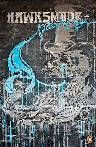 """Barn – Hawksmoor by Peter Ackroyd  """"Penguin Street Art series - in pictures Updated on Tuesday in pictures Penguin has given 10 of their modern classics series to street artists for a cover makeover. Whether they address graffiti explicitly, like Iain Sinclair's Lights Out for the Territory, evoke a city from the past, like Peter Ackroyd's Hawksmoor, or are considered cult classics, like Don DeLil..."""