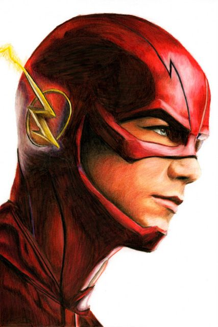 The Flash Grant Gustin CW Tv show by bclara88