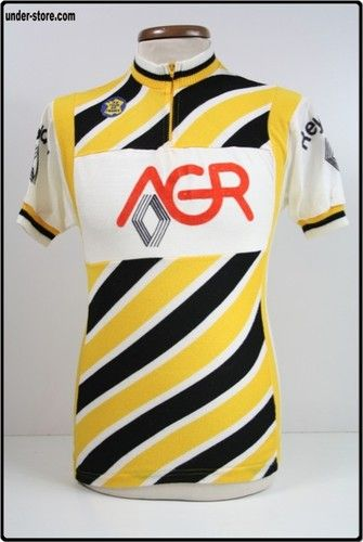 MAILLOT CYCLISME EQUIPE AGR REYDEL RENAULT rfFOOT762