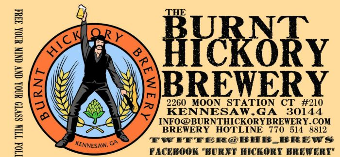 burnt hickory brewery - Google Search