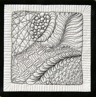 ZENTANGLE  Doodling quilts!