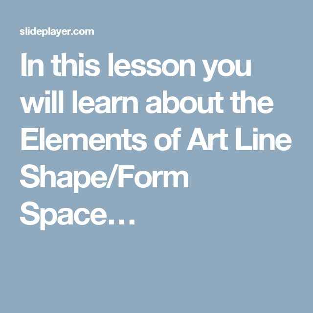 7 Elements Of Art Definitions : Best ideas about elements of art definition on