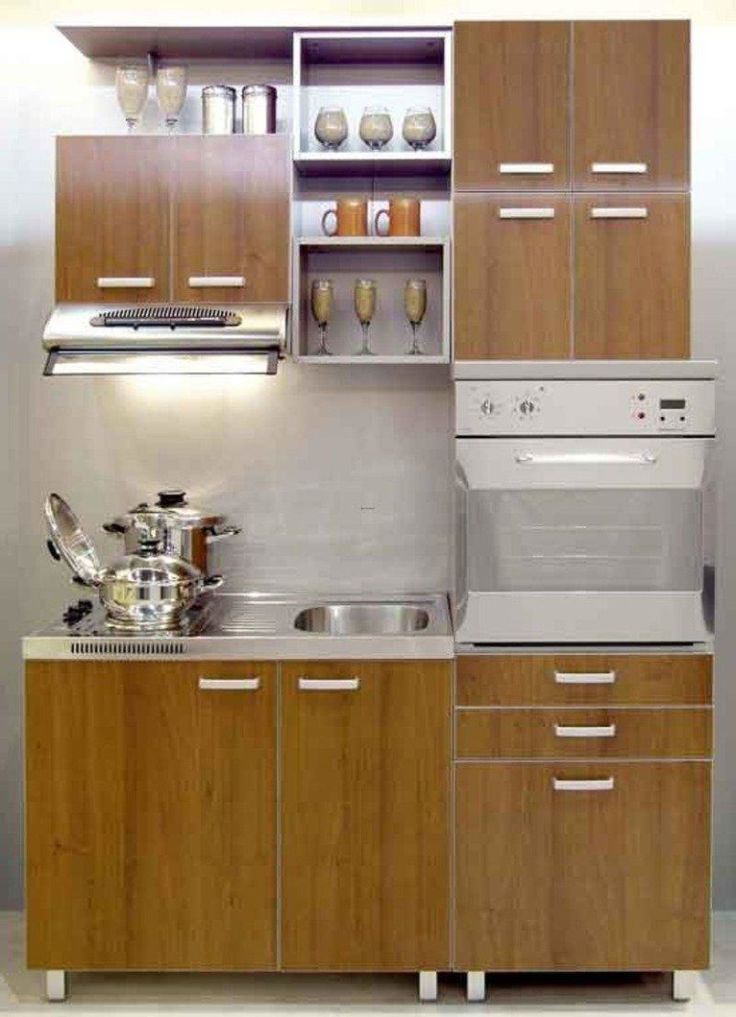 Portrayal of some smart ways to create a small kitchen for Some kitchen designs