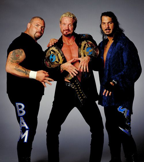 The Jersey Triad - Bam Bam Bigelow, Diamond Dallas Page, and Kanyon - WCW [1999]