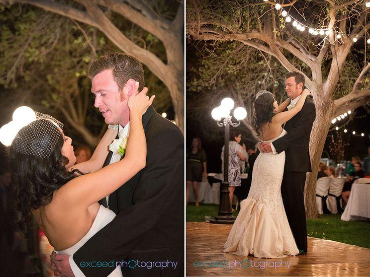 Las Vegas Wedding Photographers Exceed Photography LCeremony Site Secret Garden Weddings