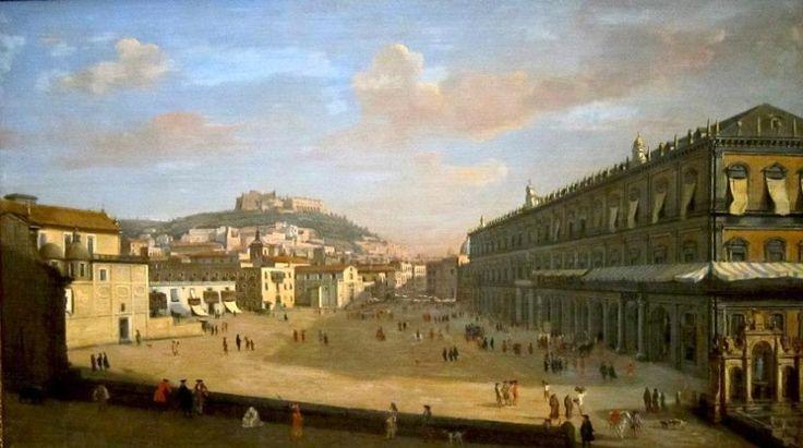 Caspar van Wittel – Cincinnati Art Museum. View of the Royal Palace at Naples (1706)