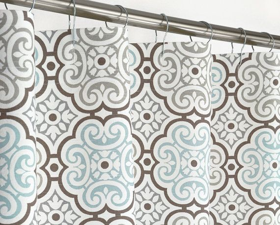Hey, I found this really awesome Etsy listing at https://www.etsy.com/listing/208010391/aqua-medallion-shower-curtain-72-wide-x