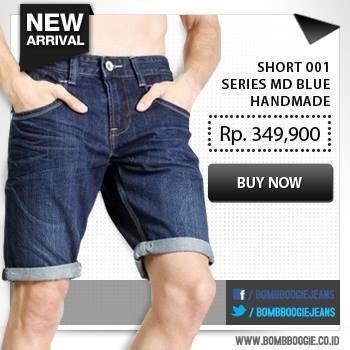 Lengkapi koleksi celana pendek jeansmu dengan koleksi dari Bomboogie. Klik >>> www.bombboogie.co.id